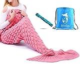 Meerjungfrau Decke Geschenk Beste Freundin hangemacht